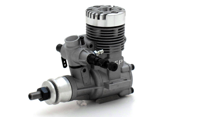 ASP 25AII 2 Stroke Glow Engine With Muffler For Airplane 72P