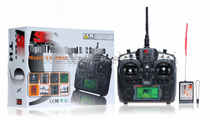 Flysky Fs Th9x 2 4g 9 Ch