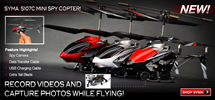 S107C Micro RC Helicopter w/ Camera sold by XHeli