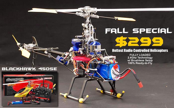 HeliPro BlackHawk 450SE