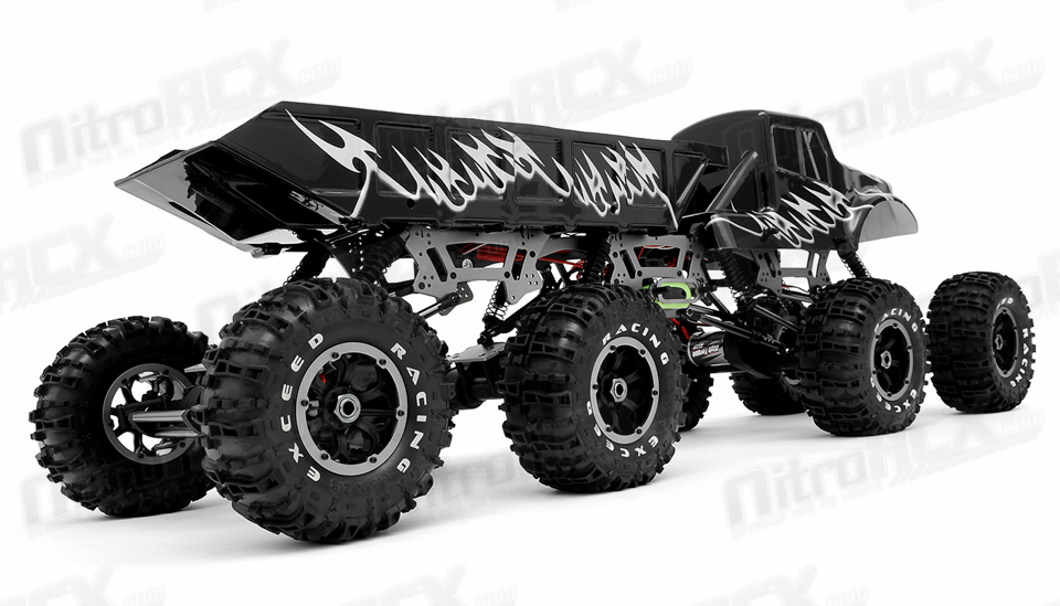 Exceed RC 1/8 Scale Mad Torque 8x8 Rock Crawler 2.4ghz ...