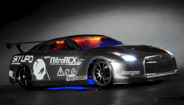 Exceed RC 2.4Ghz MadSpeed Drift King Brushless Edition 1 ...