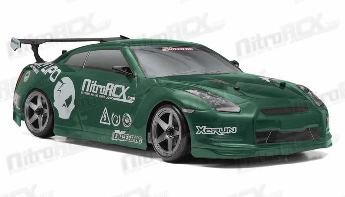 Exceed RC 2.4Ghz MadSpeed Drift King 1/10 Electric Ready ...