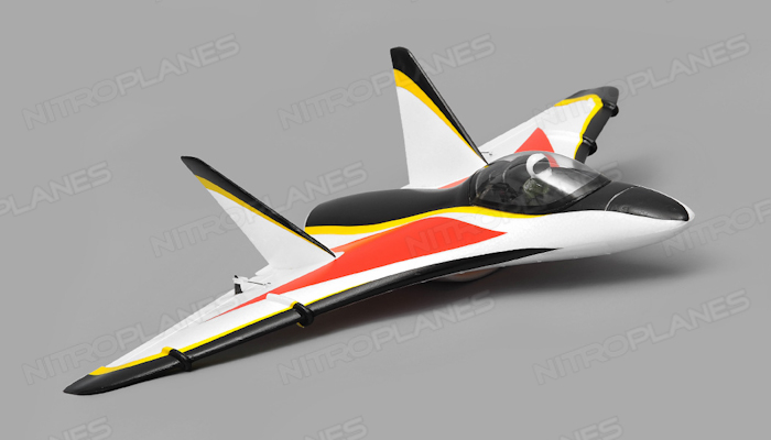 Aerosky Rc Delta 3 Channel Edf Jet Arf Wingspan 510mm Rc