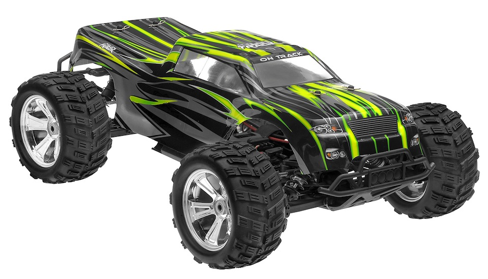 Rc Trucks Green : Iron track e mtl scale artr wd brushless monster