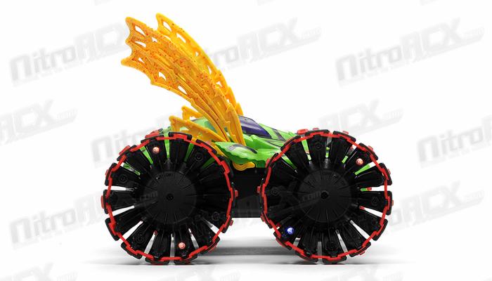 Sdl Toys Control Stunt Car Ready To Run Green Rc Remote