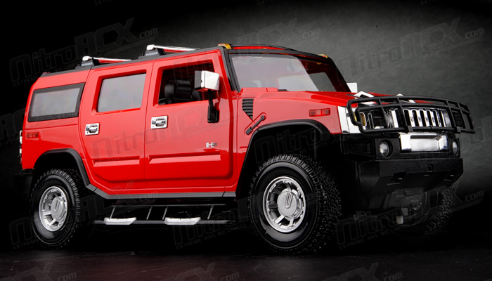 Licensed 1 14th Scale Hummer H2 Ready To Run Control Model