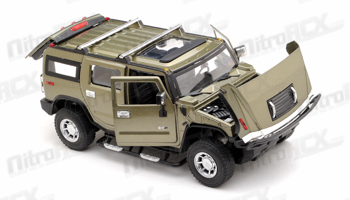 Licensed 1 24th Scale Hummer H2 Ready To Run Control Model