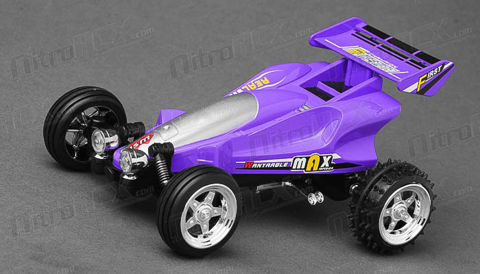 Great Wall Toys 1:43 Scale Sprint 2.4ghz Radio Control  Car (Purple)