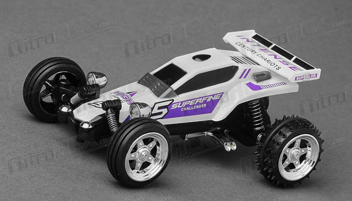 Great Wall Toys 1:43 Scale Sprint 2.4ghz Radio Control  Car (White)