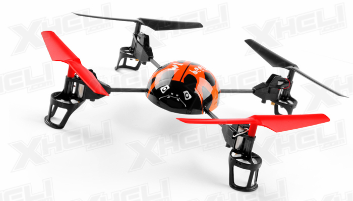 WL Toys RC Beetle V929 Quadcopter 4 Channel 2.4Ghz (Orange)