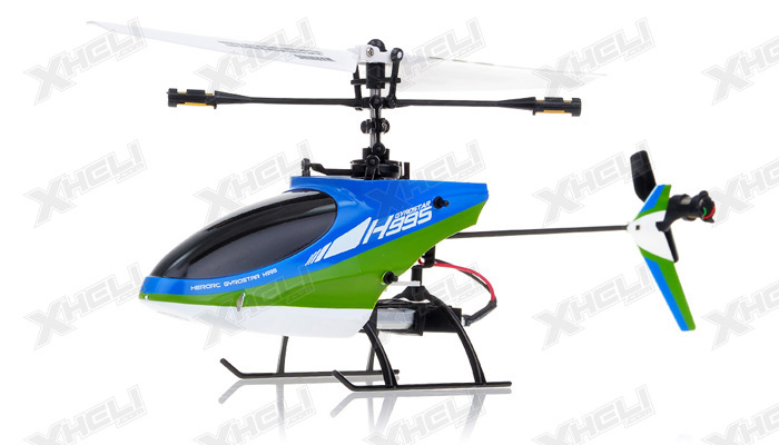 Hero RC 4CH Mini RC Helicopter H995 hot selling 2.4GHz Single-Propeller with Gyro 