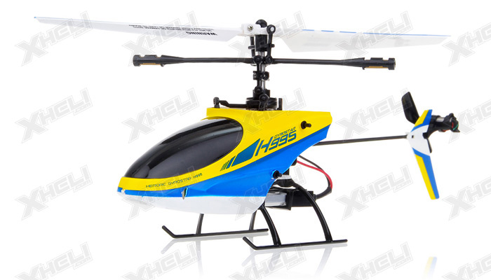 Hero RC 4CH Mini RC Helicopter H995 hot selling 2.4GHz Single-Propeller with Gyro  (Red)