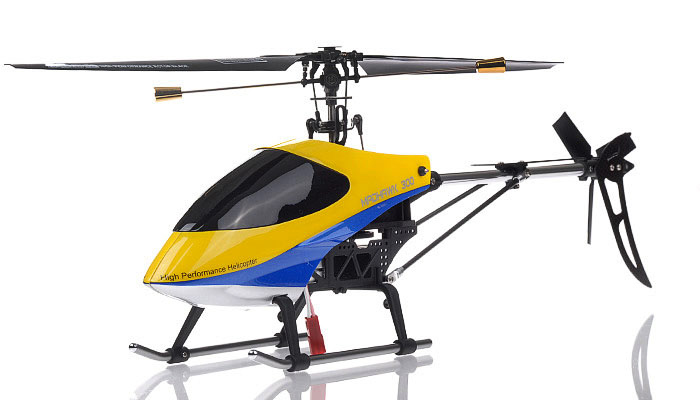 NEW Exceed RC 4 Channel MadHawk 300 RC Helicopter w/ 2.4 GHz 2402D Devo Transmitter