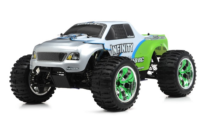 1/10 2.4Ghz Exceed RC Infinitive Nitro Gas Powered RTR Off