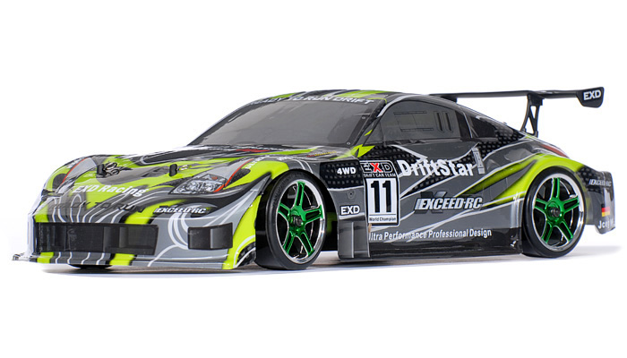 Drift Car Radio Car Exceed Rc Electric Driftstar Rtr