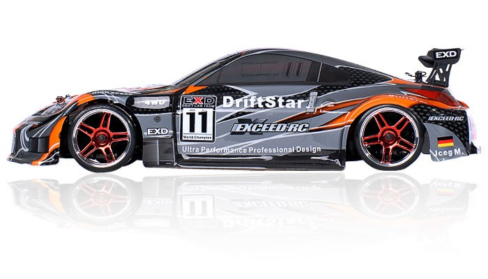 Brushless Version Exceed Rc Drift Star Electric Powered Rtr