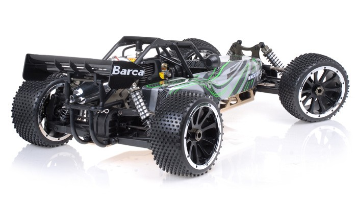 1 5th giant scale exceed rc baa 30cc gas powered off road buggy almost ready to run artr green. Black Bedroom Furniture Sets. Home Design Ideas