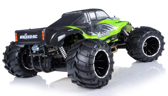 1 5th Giant Scale Exceed Rc Hannibal 30cc Gas Engine Led