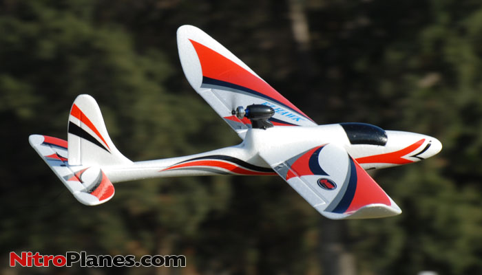 Dynam 3 Ch Ez Hawk 1370mm Electric Rc Glider Plane Rtf
