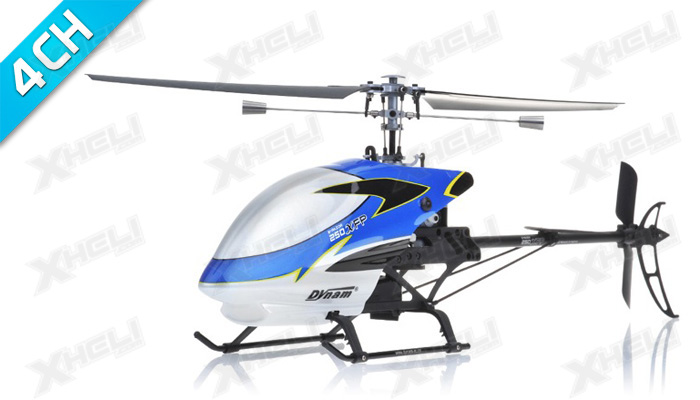 Dynam E-Razor 250 XFP Fixed Pitch 4 Channel RC Helicopter