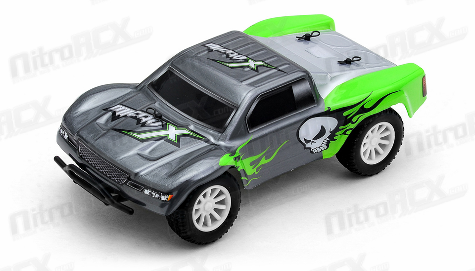 light scale nitro rc truck with 68c59 28 Sct Green 24g on 200002650 further Traxxas Slash Short Course 4wd Rtr Tra68086 4 Mark Jenkins in addition Proline Racing Pro3430 00 2014 Chevy Silverado Cle additionally Steering Parts Diagram For Rc Cars together with 41p Baja Head Light Green.