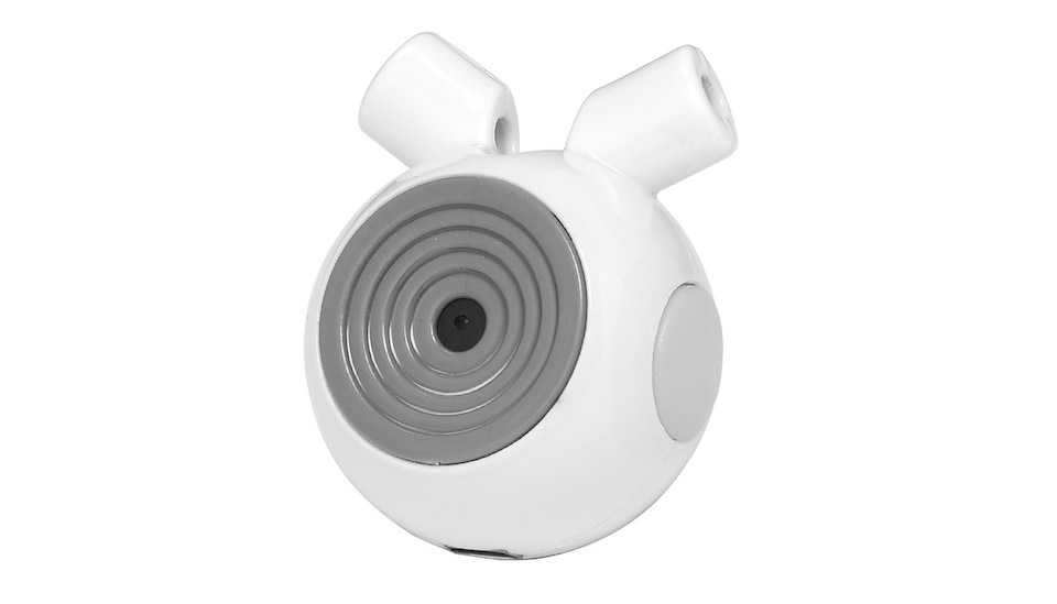 Pet Cam Pets View HD Camera with MP3 Audio Speaker (White)