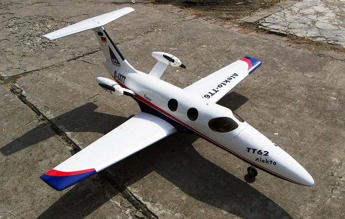 Tt 62 Alekto Electric Twin Engine Fiberglass Rc Airplane