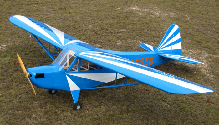 120 extreme quality giant scale clipped wing j3 piper cub 100cc nitro remote control airplane. Black Bedroom Furniture Sets. Home Design Ideas