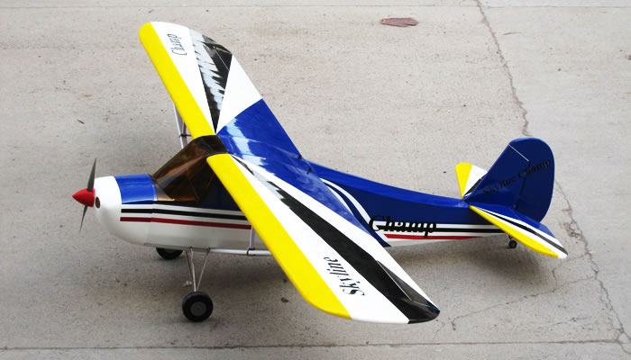 90a272b Gas Skych  Blue on rc helicopter electric motors