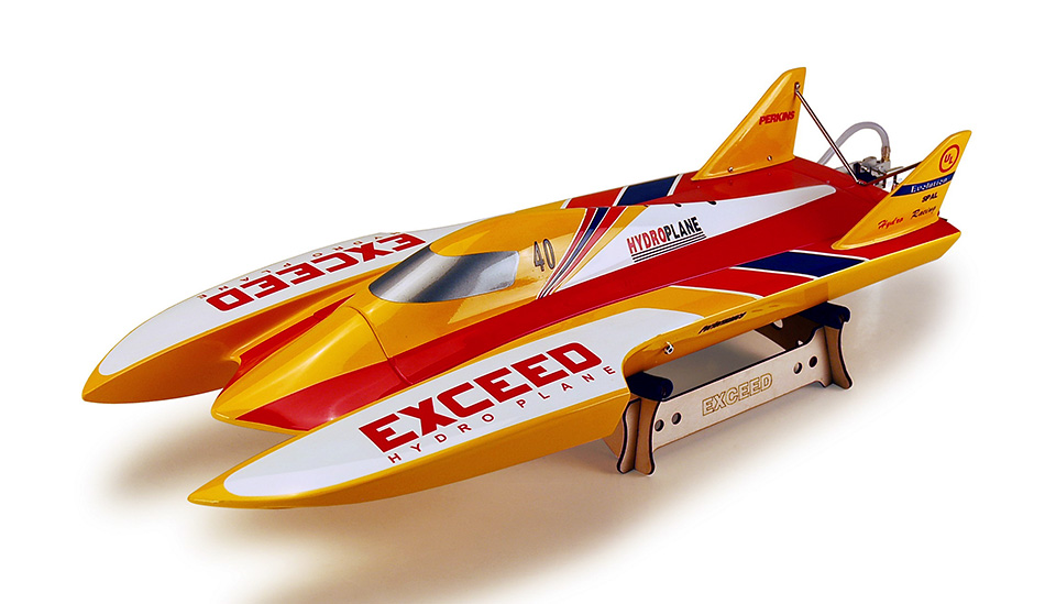 Exceed Racing RED EVO Hydro Boat Electric Powered ...