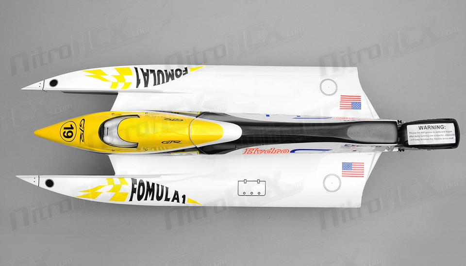 Exceed Formula 1 650mm Electric Powerboat Almost Ready To