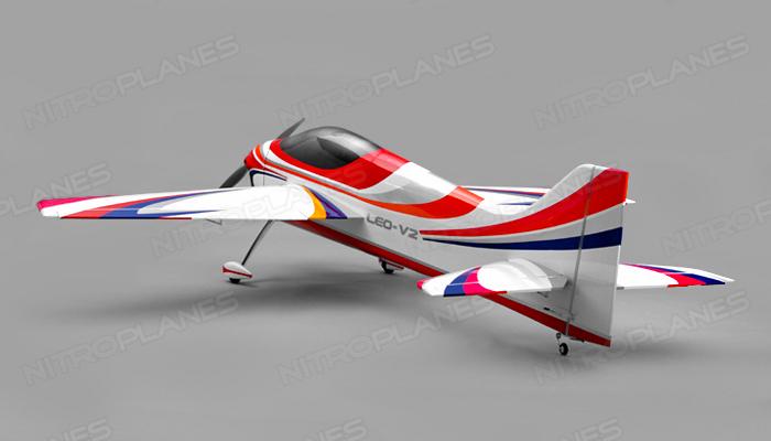 Nitroplane Leo V2 Sport Aerobatic Pattern Plane Kit 1746mm