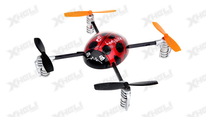 New Walkera QR Ladybird 2.4 ghz 6 Channel Quadcopter RTF w/ Devo 2402D Transmitter