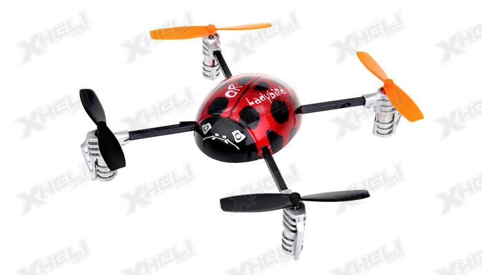 New Walkera QR Ladybird 2.4 ghz 6 Channel Quadcopter RTF w/ Devo 2402D Transmitter