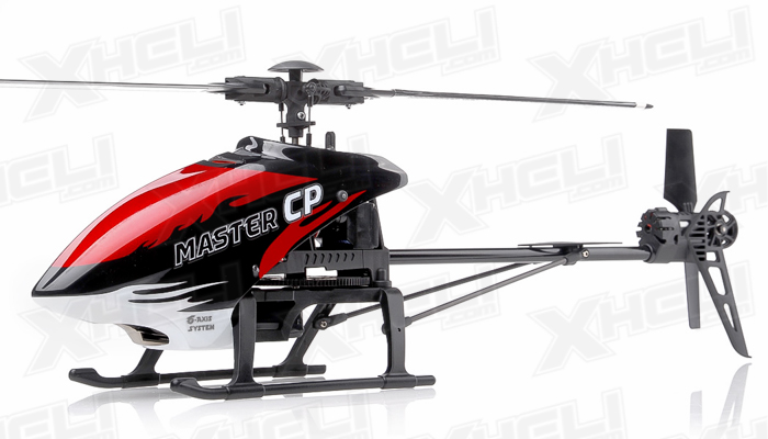 Walkera Master CP 6 Channel Ready to Fly RC Helicopter