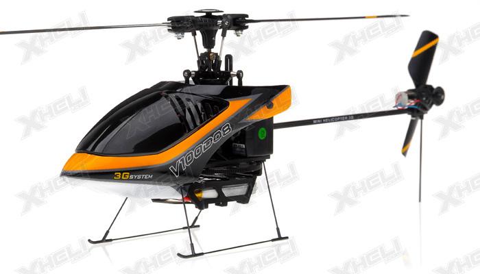 New Walkera V100D08 3D Flybarless RC Helicopter w/ 6 Channel 2.4GHz Devo-7 LCD Transmitter RTF Combo