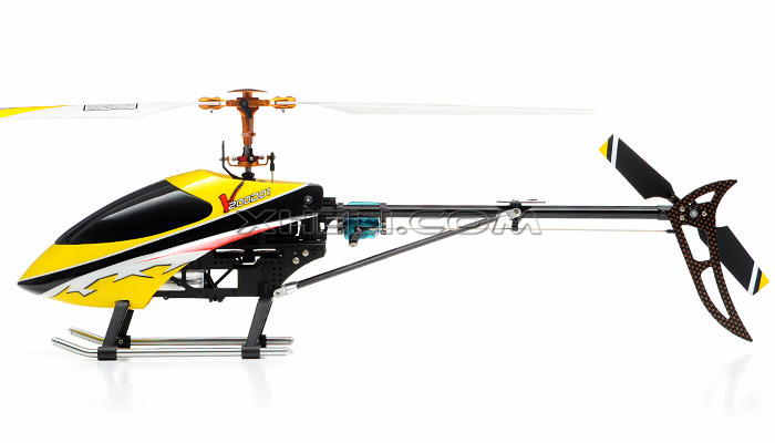 NEW Walkera V200D01 Flybarless Metal 4 Channel RC Helicopter w/ Auto Stabilizing Gyro + 2.4 GHz 2402D Devo Transmitter RTF