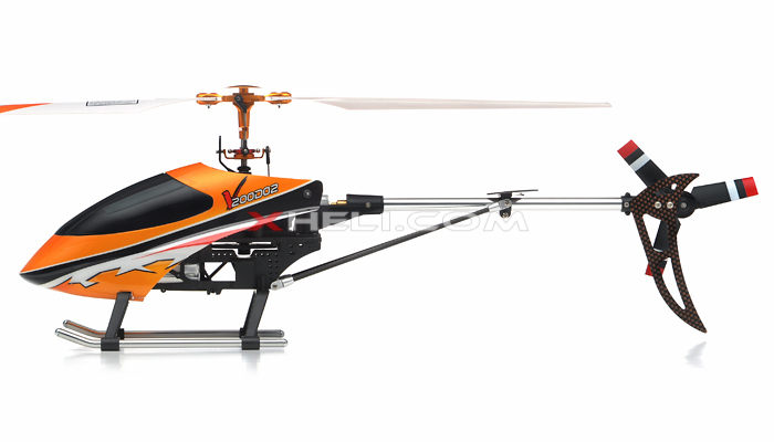 New Walkera V200D02 4 Channel Metal Flybarless RC Helicopter w/ Auto Stabilizing Gyro + 2402D 2.4GHz Transmitter RTF