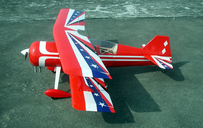 Pitts 120 Nitro RC Planes