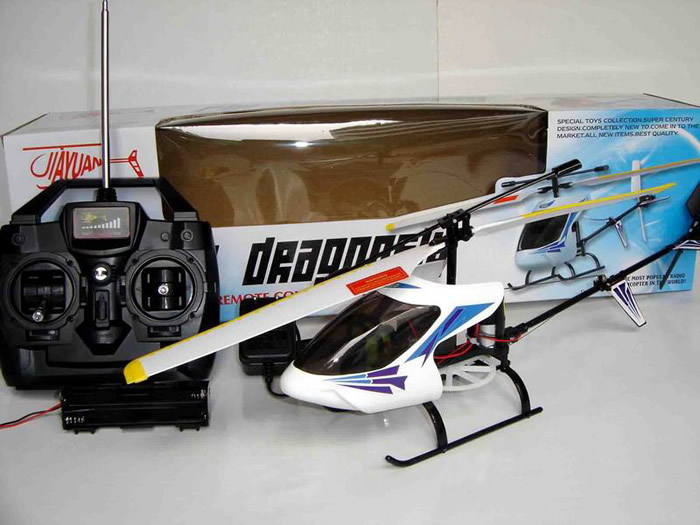 Radio Control RC Dragonfly 2 CH Helicopter RTF