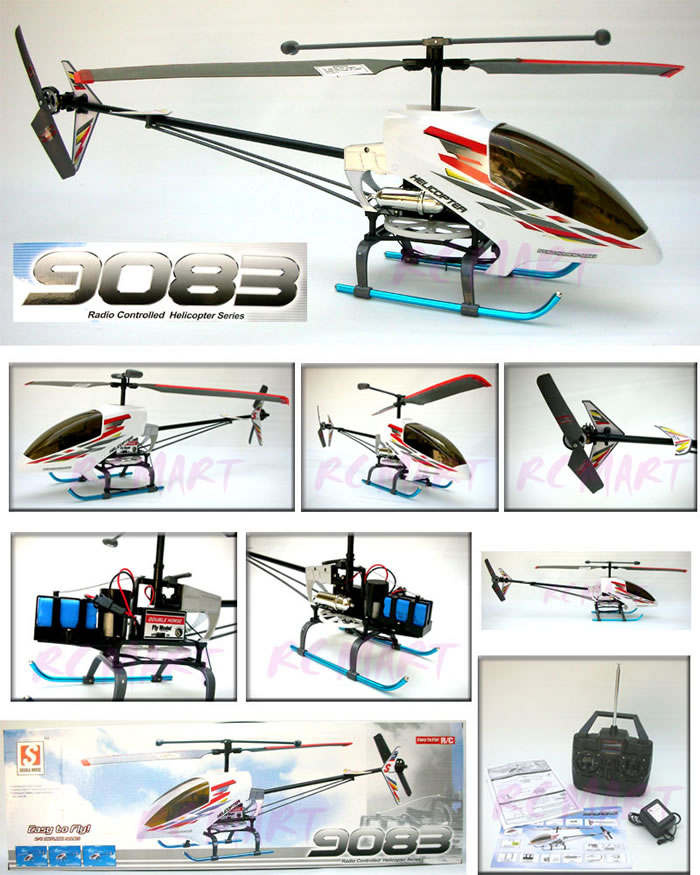 9083 Ready-to-Fly 2-Channel EP Radio Remote Controlled R/C Helicopter