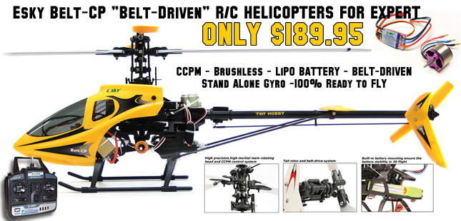 BELT CP RTF Helicopter