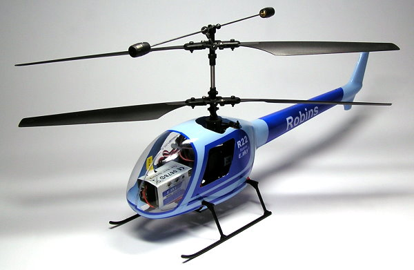 Esky ROBINS 22 4-Channel Radio Remote Controlled R/C Scale Electric R/C Helicopter Ready to Fly!