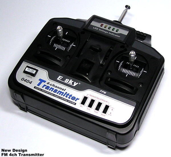 Transmitter for Esky Robins